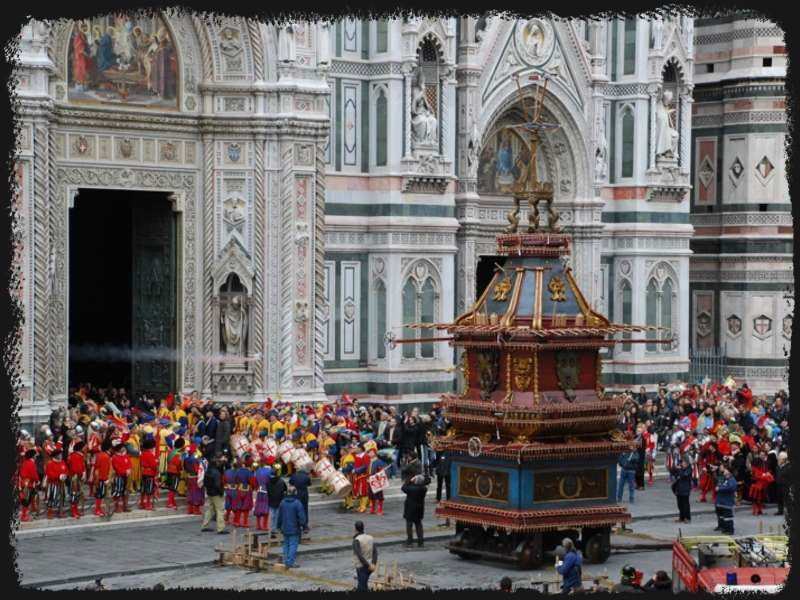 The Duomo Easter Cart