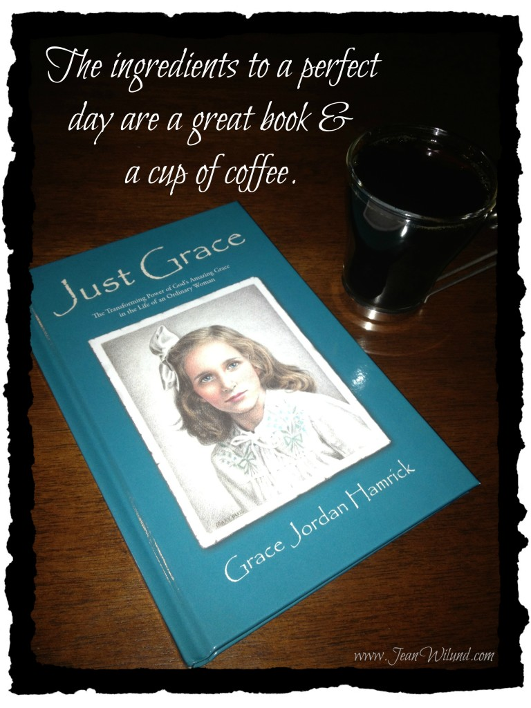The ingredients to a perfect day are a great book & a cup of coffee.