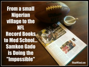 Click to read the powerful story of Samkon Gado, who never let the facts interfere with the possibilities.