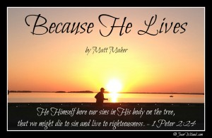 """Click to watch music video """"Because He Lives (Amen)"""" by Matt Maher"""