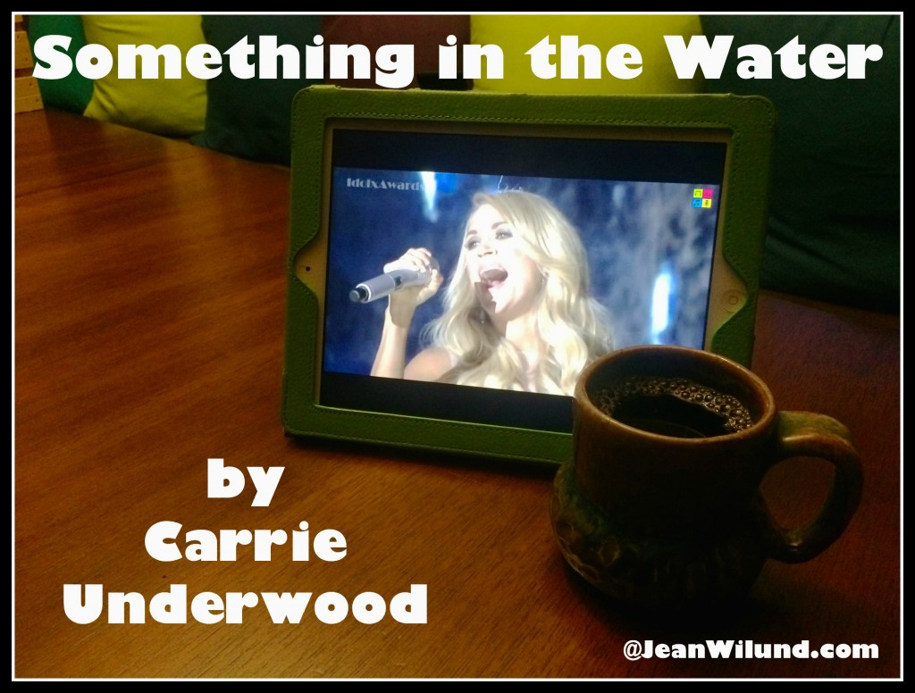 """Something in the Water"" by Carrie Underwood (Click to view Video)"