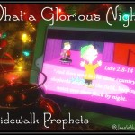 """Click to View Sidewalk Prophets' """"What a Glorious Night"""" featuring Charlie Brown's Linus."""