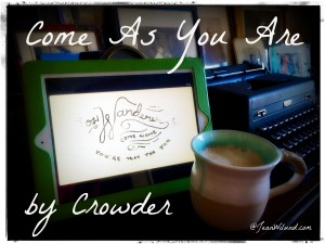 "Click photo to view music video: ""Come As You Are"" by Crowder"