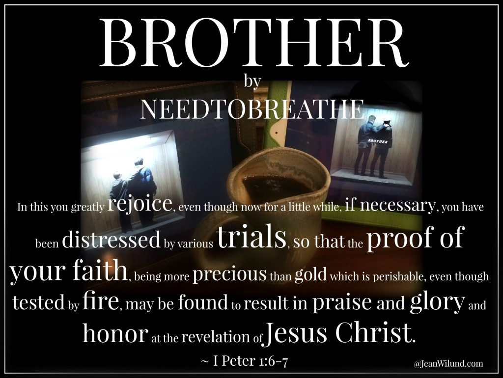 "What Dylann Roof Meant for Evil, God Allowed for Good ~ ""Brother"" by Needtobreathe (Monday Music)"