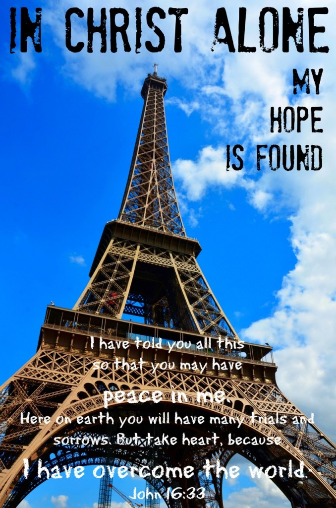 In Christ Alone My Hope Is Found. Click to view Music Video by Lauren Daigle via www.JeanWilund.com