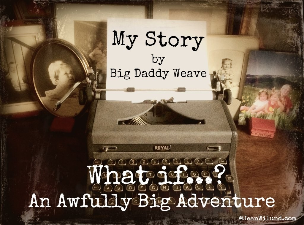 "Read 4 epic stories and watch Big Daddy Weave sing ""My Story"" And then go live your story!"