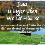 "Pt. 1 of ""Are You In A Storm? Jesus is Bigger Than We Let Him Be."" A true story by Traci Burns via @JeanWilund.com"