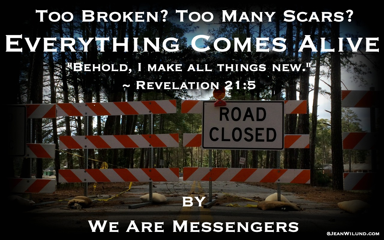 """Click to watch music video """"Everything Comes Alive"""" by We Are Messengers and hear lead singer Daren Mulligan's powerful testimony via www.JeanWilund.com"""