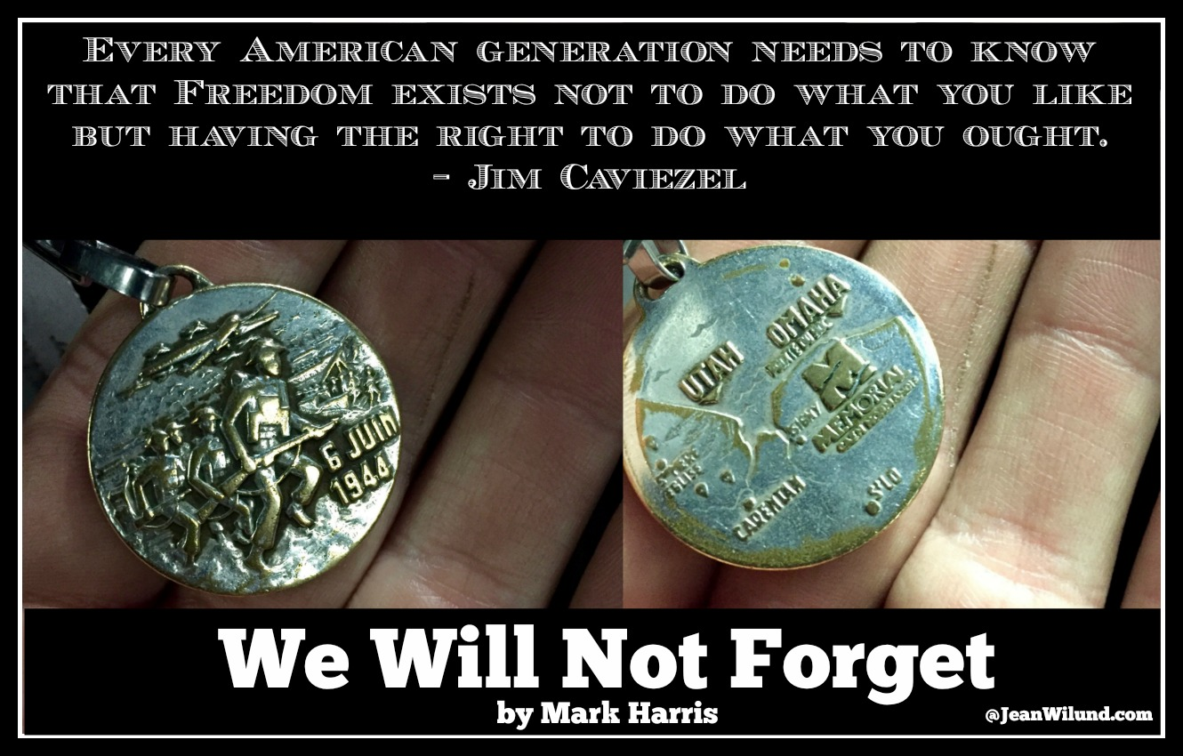 "We will not forget. We Must Not Forget. View unforgettable music video ""We Will Not Forget"" by Mark Harris & Interview w/ Jim Caviezel on filming The Passion of the Christ"
