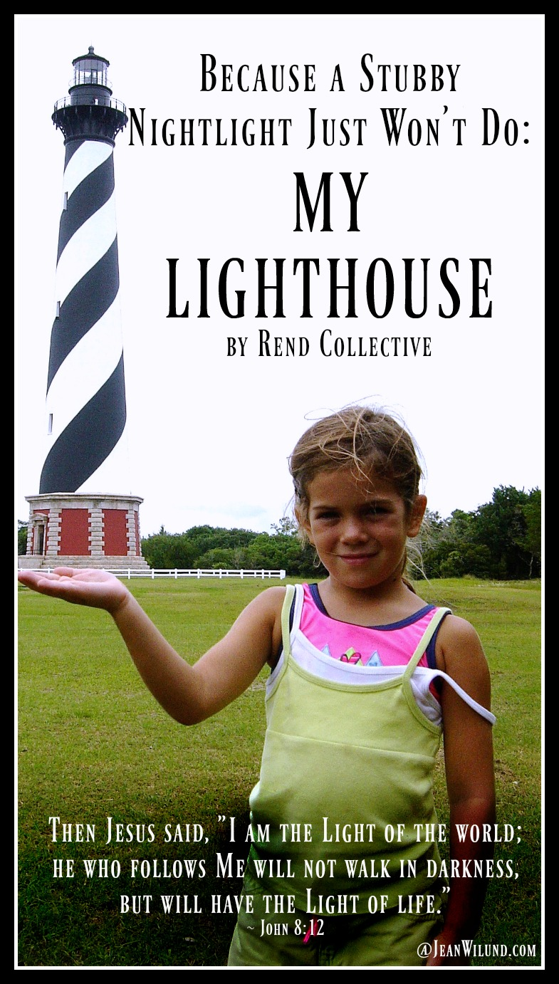 My Lighthouse Child Holds a Lighthouse
