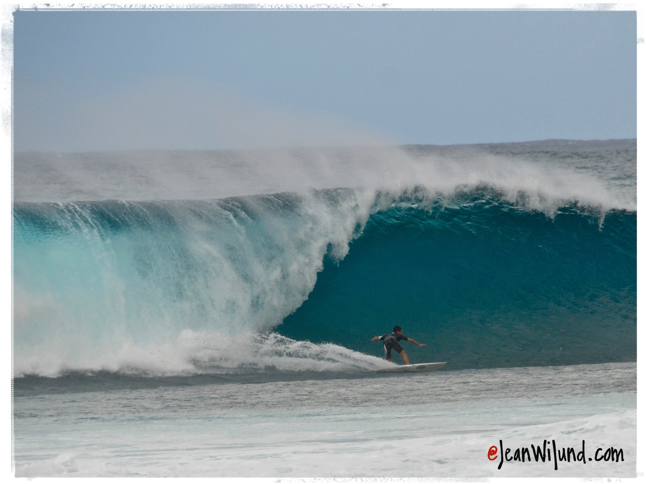 Pipe Master Surfer -- Life Is Either a Daring Adventure Or Nothing At All ~ Take It On! via www.jeanwilund.com