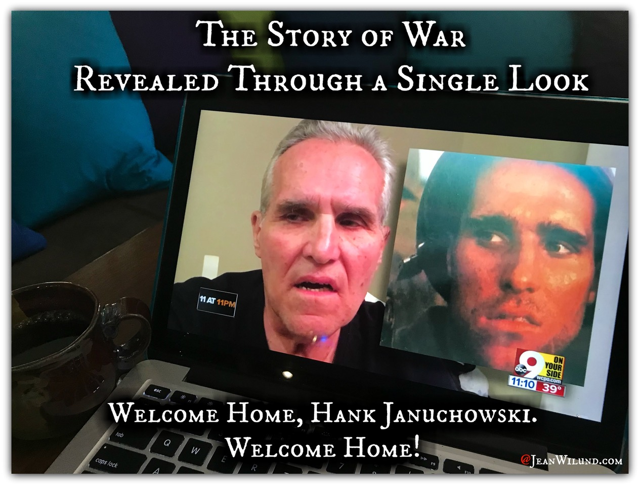 The Story of War Revealed Through a Single Look - Welcome Home, Hank Januchowski
