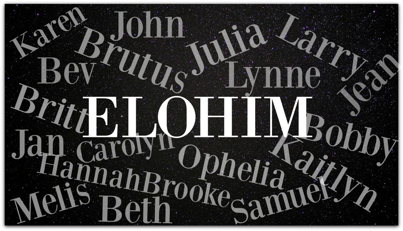 The Power of a Name - Elohim (by Jean Wilund via InspireAFire.com)