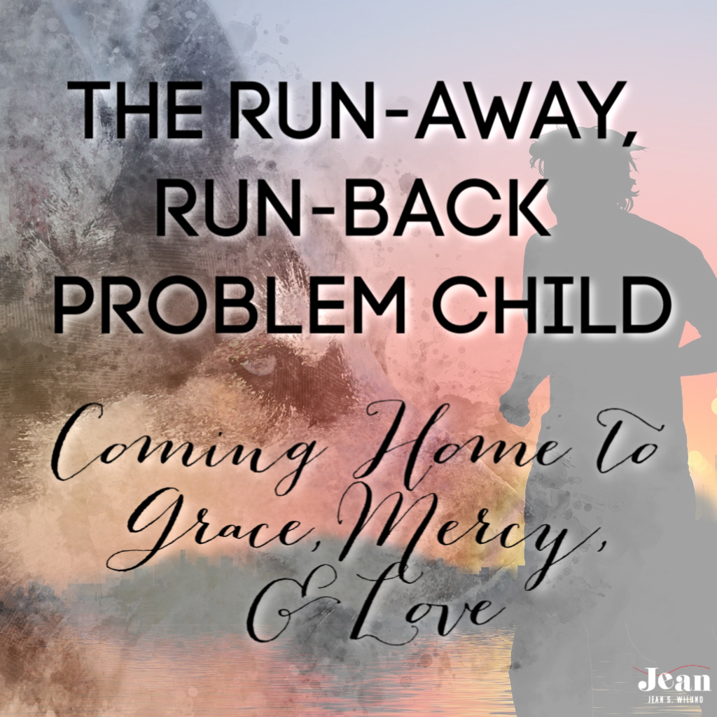 The Run-Away, Run-Back Problem Child: Coming Home to Grace, Mercy, and Love (by Jean Wilund) via www.JeanWilund.com Thoughts about the prodigal son and his father's great love and my Siberian Husky