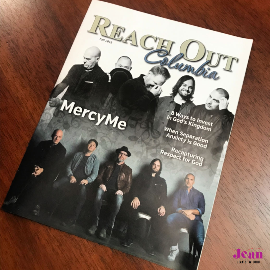 MercyMe guitarist Mike Scheuchzer talks with Jean Wilund and Reach Out, Columbia about their #1 songs I Can Only Imagine, God With Us, and other great moments.